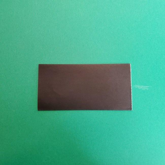 きめつのやいばの折り紙 真菰の折り方作り方②髪 (6)