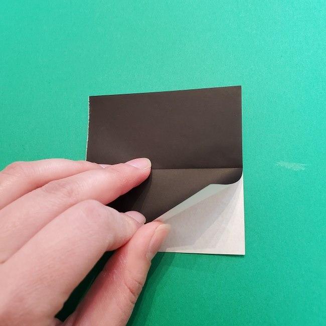 きめつのやいばの折り紙 真菰の折り方作り方②髪 (7)