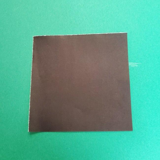 きめつのやいばの折り紙 真菰の折り方作り方④着物 (1)