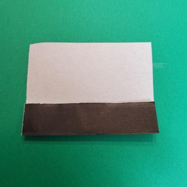 きめつのやいばの折り紙 真菰の折り方作り方④着物 (4)