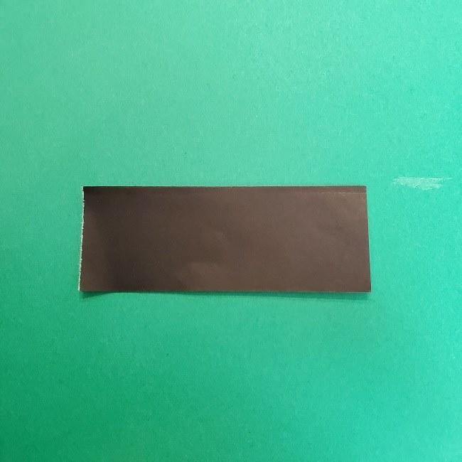 きめつのやいばの折り紙 真菰の折り方作り方④着物 (5)
