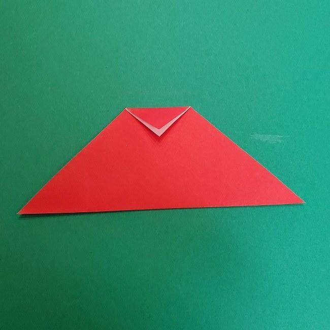 きめつのやいばの折り紙 真菰の折り方作り方④着物 (8)