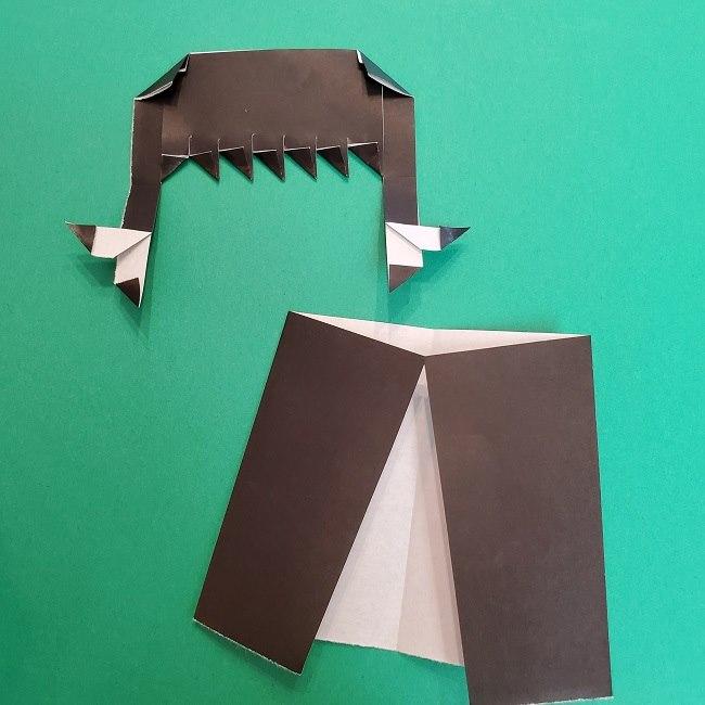 きめつのやいばの折り紙 真菰の折り方作り方⑤完成 (1)