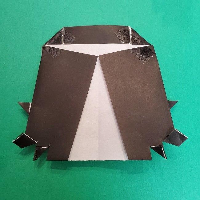 きめつのやいばの折り紙 真菰の折り方作り方⑤完成 (10)