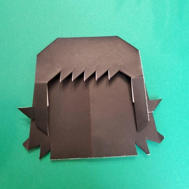 きめつのやいばの折り紙 真菰の折り方作り方⑤完成 (11)