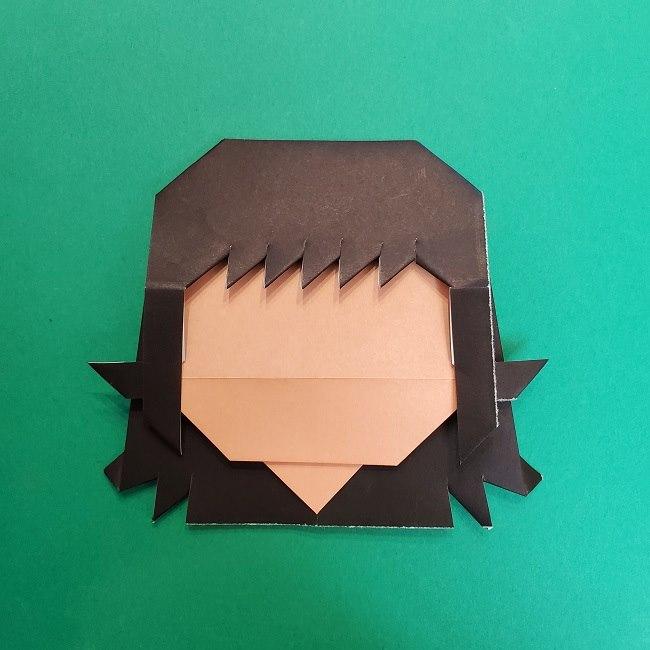 きめつのやいばの折り紙 真菰の折り方作り方⑤完成 (12)