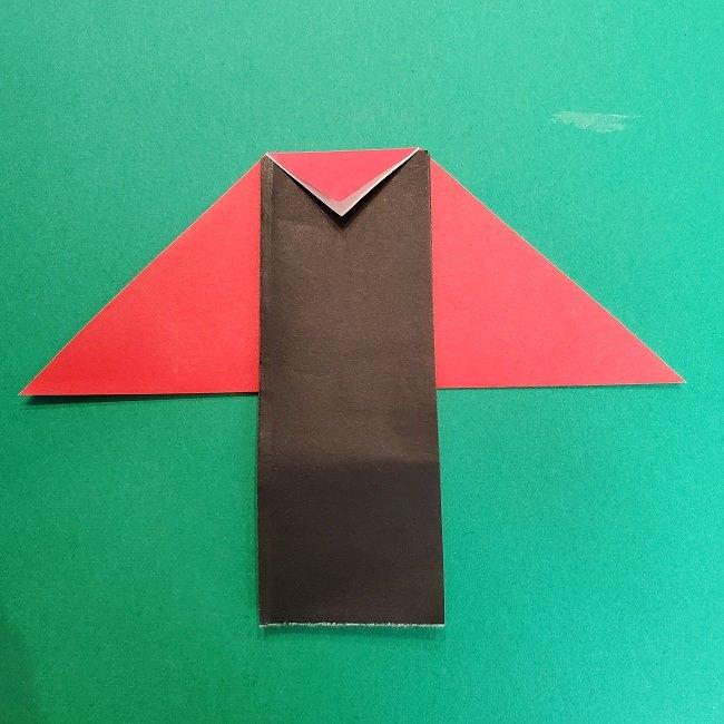きめつのやいばの折り紙 真菰の折り方作り方⑤完成 (16)
