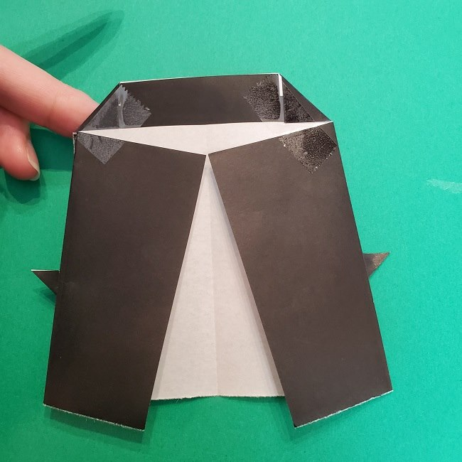 きめつのやいばの折り紙 真菰の折り方作り方⑤完成 (2)