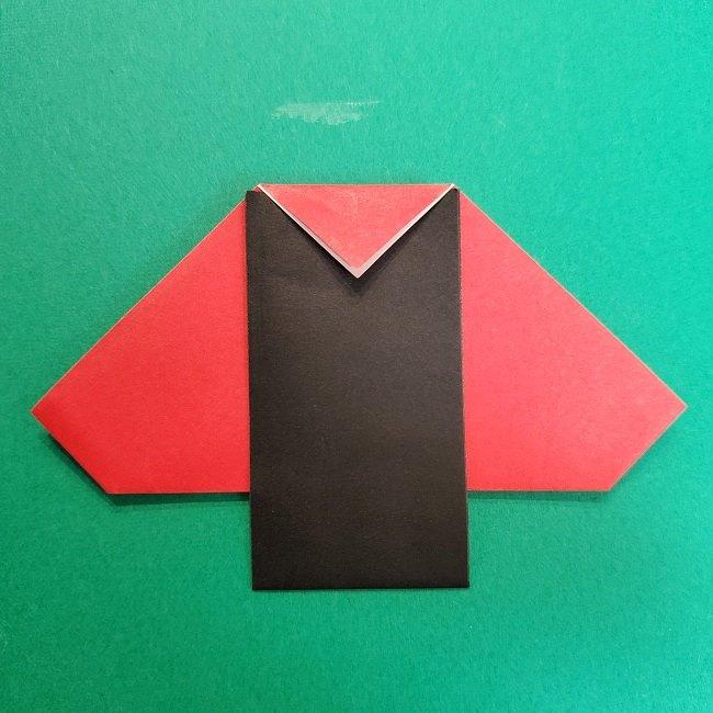 きめつのやいばの折り紙 真菰の折り方作り方⑤完成 (20)