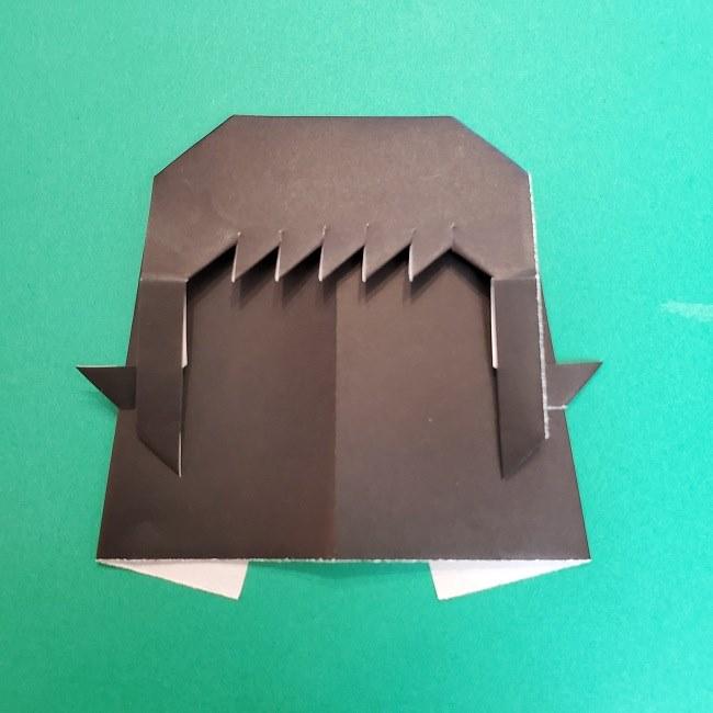 きめつのやいばの折り紙 真菰の折り方作り方⑤完成 (3)
