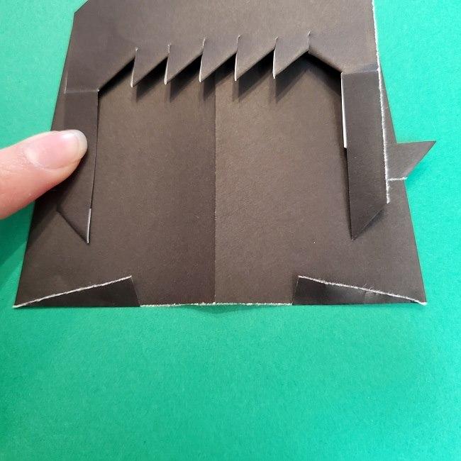 きめつのやいばの折り紙 真菰の折り方作り方⑤完成 (4)