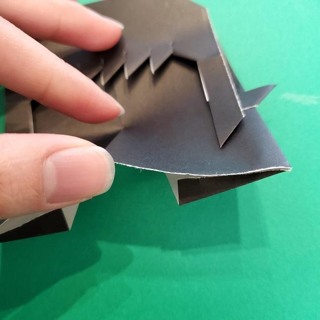 きめつのやいばの折り紙 真菰の折り方作り方⑤完成 (5)