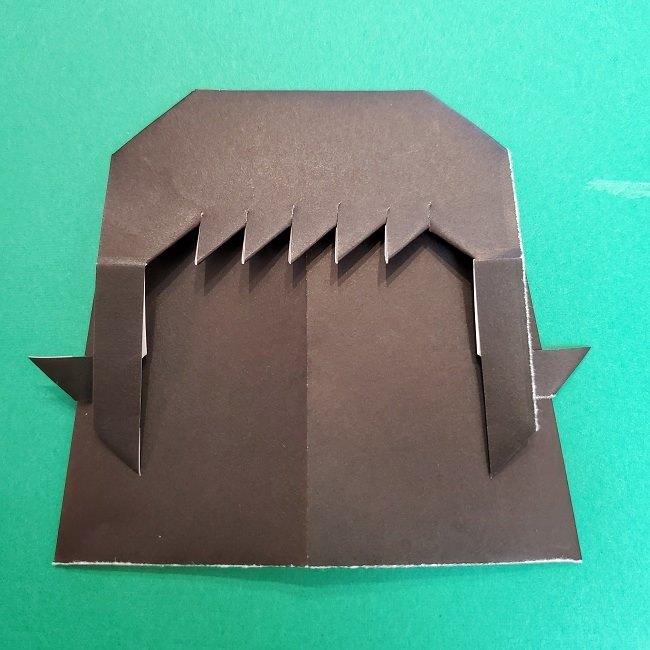 きめつのやいばの折り紙 真菰の折り方作り方⑤完成 (6)