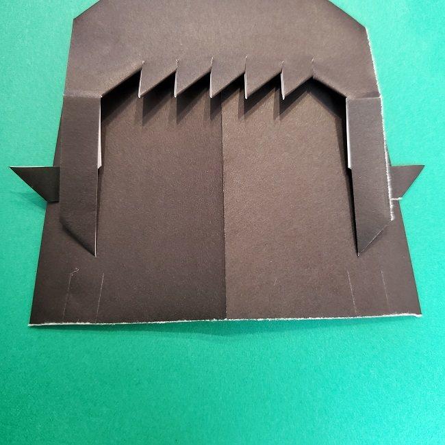 きめつのやいばの折り紙 真菰の折り方作り方⑤完成 (7)