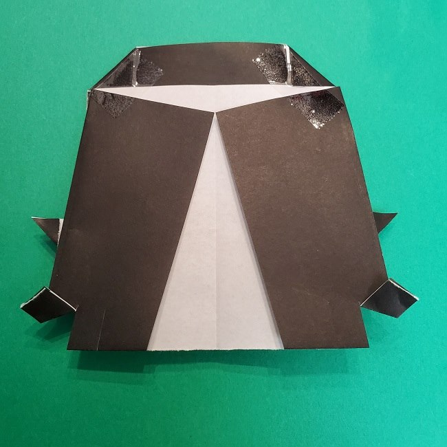 きめつのやいばの折り紙 真菰の折り方作り方⑤完成 (9)