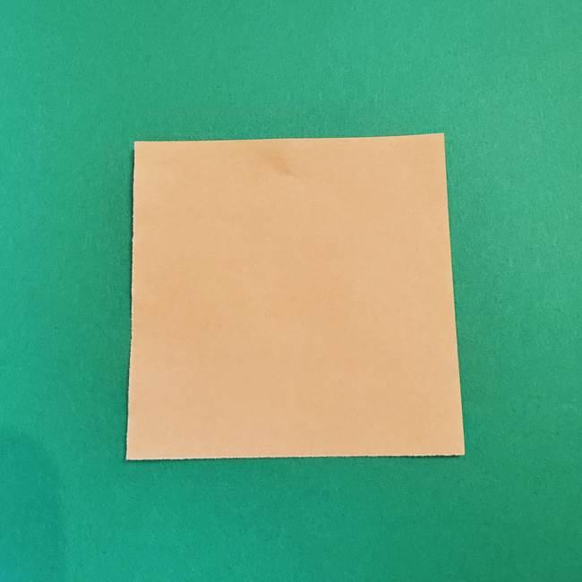 きめつのやいば折り紙 ゆしろうの折り方作り方1(1)