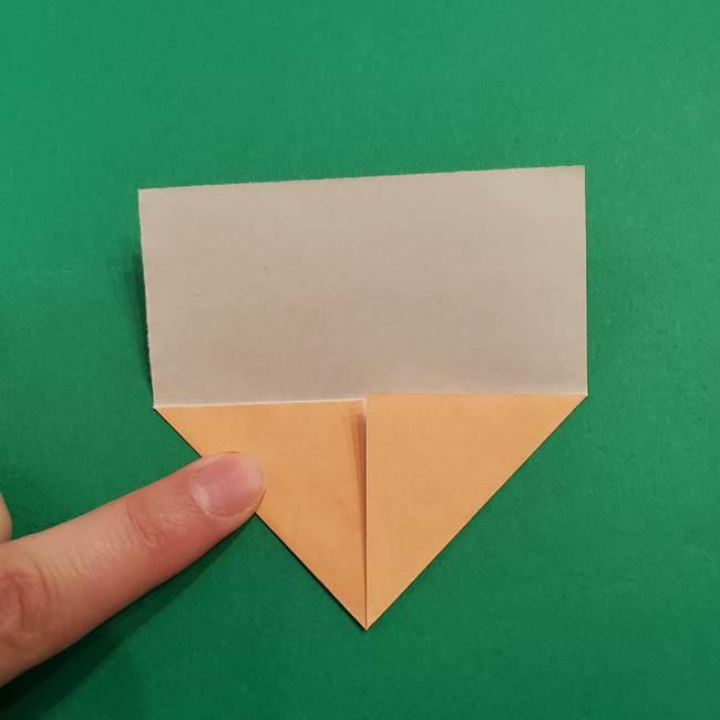 きめつのやいば折り紙 ゆしろうの折り方作り方1(4)