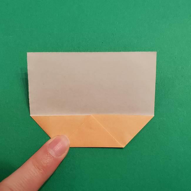 きめつのやいば折り紙 ゆしろうの折り方作り方1(5)