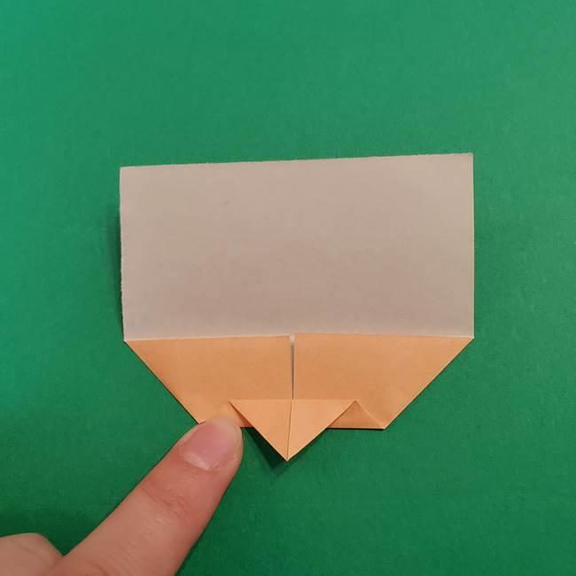 きめつのやいば折り紙 ゆしろうの折り方作り方1(6)