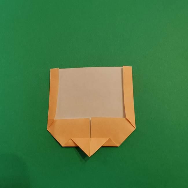 きめつのやいば折り紙 ゆしろうの折り方作り方1(7)