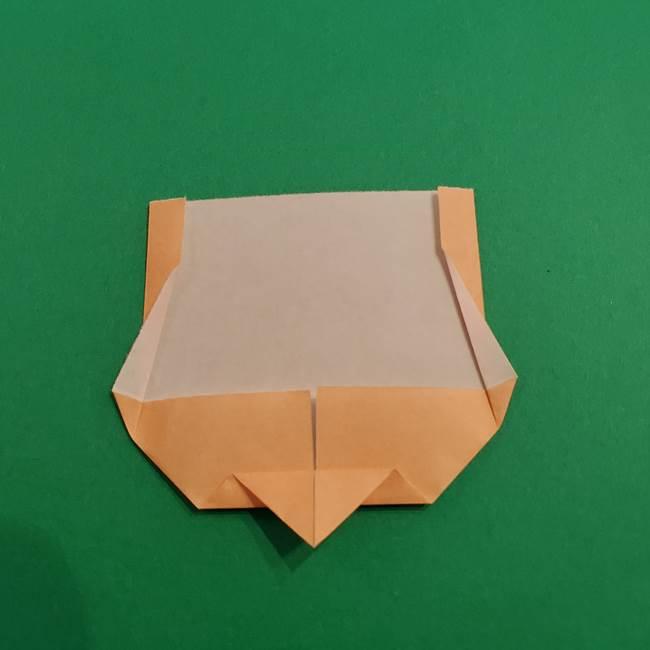 きめつのやいば折り紙 ゆしろうの折り方作り方1(8)