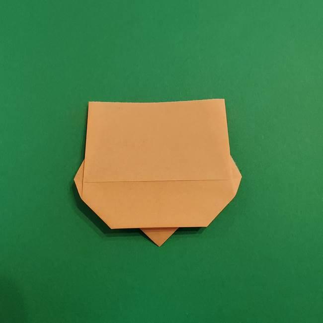 きめつのやいば折り紙 ゆしろうの折り方作り方1(9)