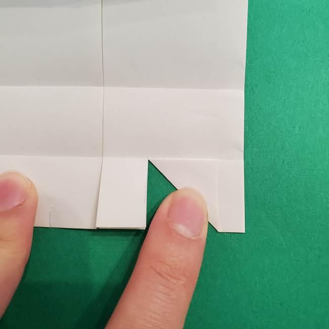 きめつのやいば折り紙 ゆしろうの折り方作り方2(14)