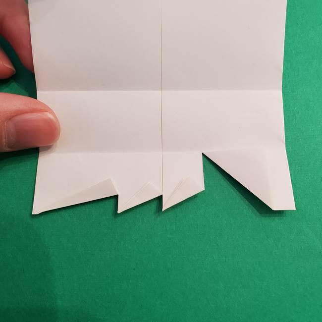 きめつのやいば折り紙 ゆしろうの折り方作り方2(15)