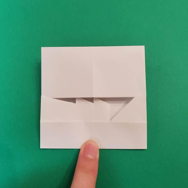きめつのやいば折り紙 ゆしろうの折り方作り方2(16)