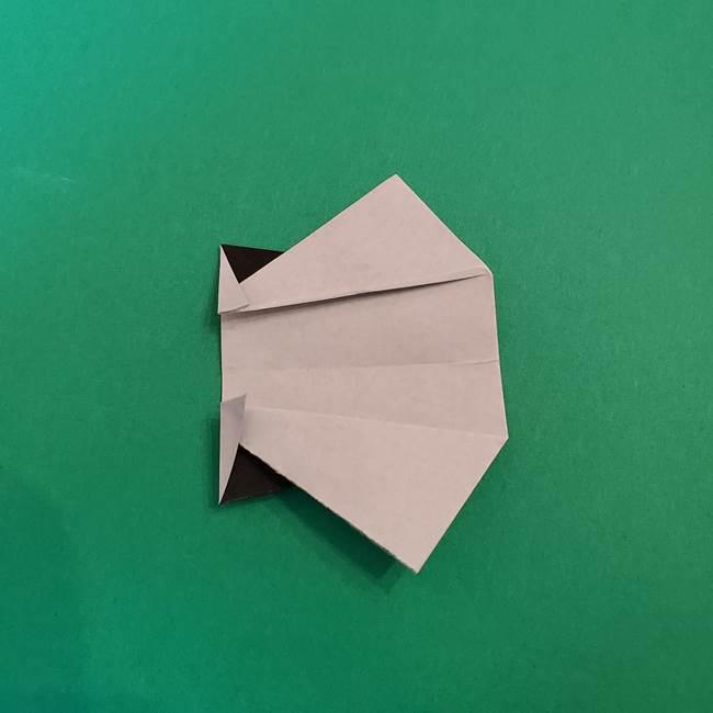 きめつのやいば折り紙 ゆしろうの折り方作り方3(10)