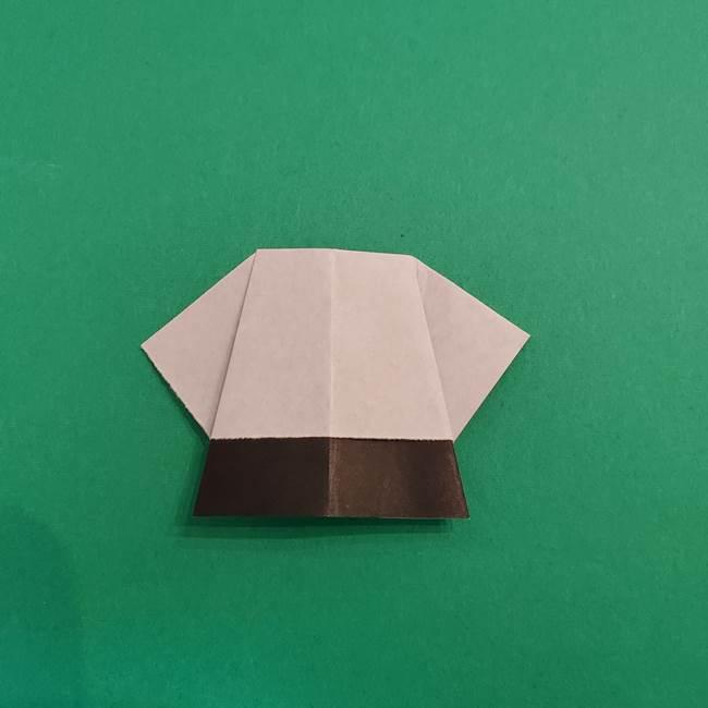 きめつのやいば折り紙 ゆしろうの折り方作り方3(11)