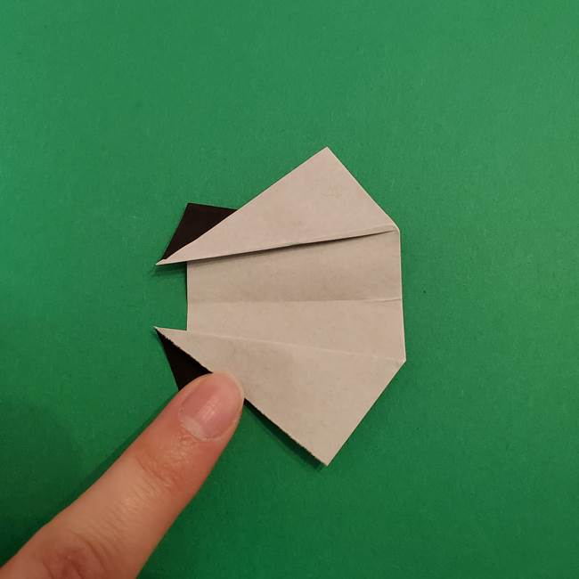 きめつのやいば折り紙 ゆしろうの折り方作り方3(9)