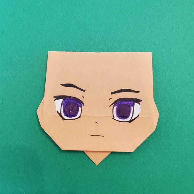 きめつのやいば折り紙 ゆしろうの折り方作り方4(1)