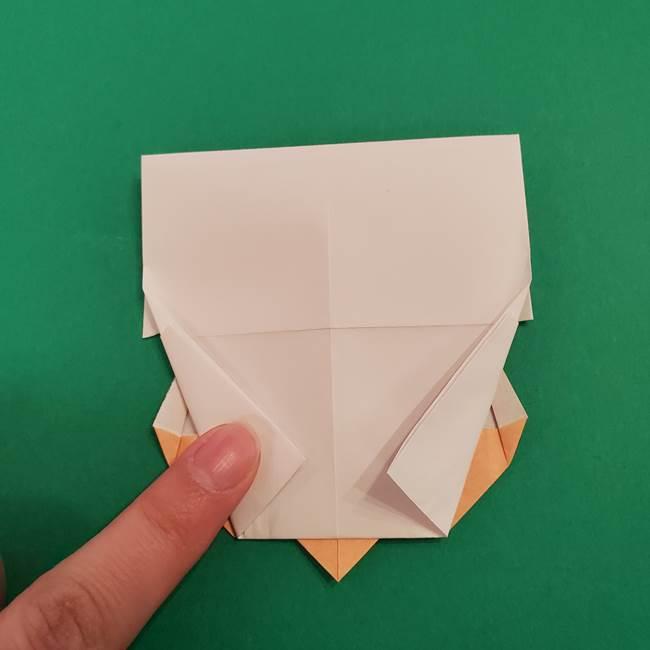 きめつのやいば折り紙 ゆしろうの折り方作り方4(4)