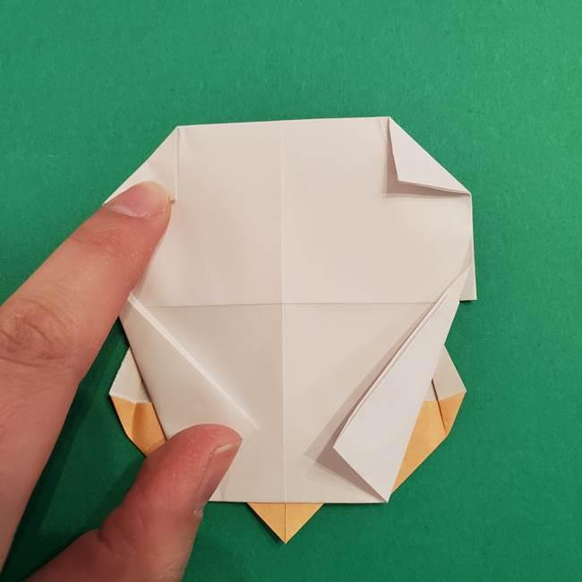 きめつのやいば折り紙 ゆしろうの折り方作り方4(5)