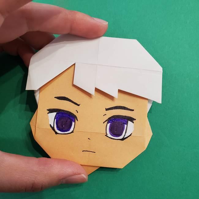 きめつのやいば折り紙 ゆしろうの折り方作り方4(6)