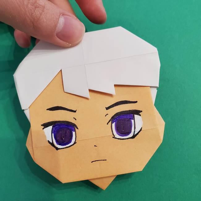 きめつのやいば折り紙 ゆしろうの折り方作り方4(7)