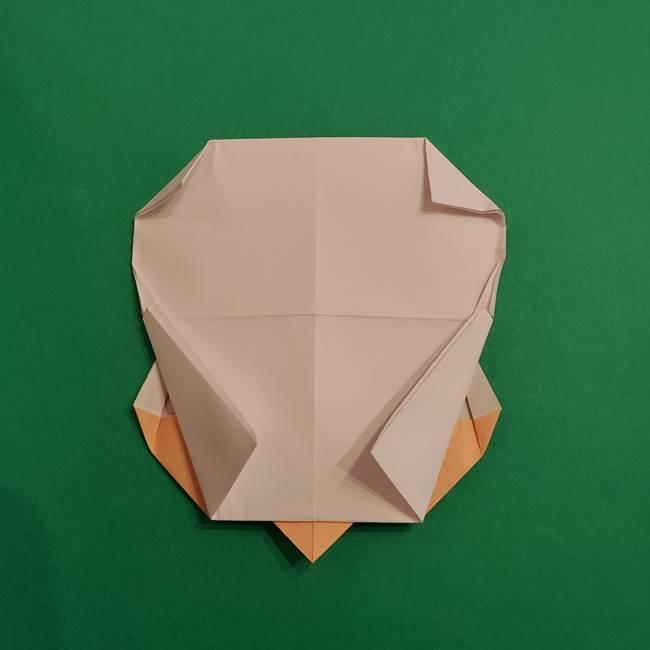 きめつのやいば折り紙 ゆしろうの折り方作り方4(8)