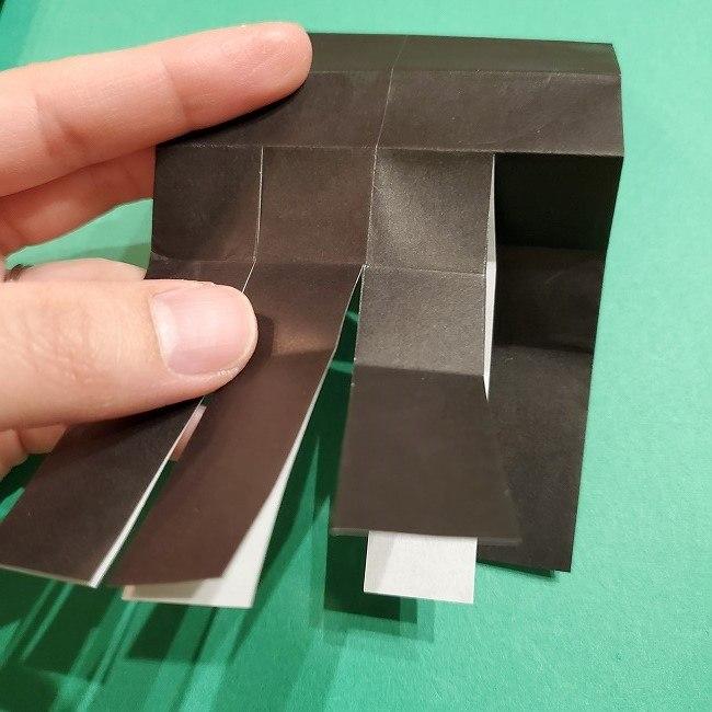きめつのやいば 折り紙のたまよ*折り方作り方2髪の毛 (11)