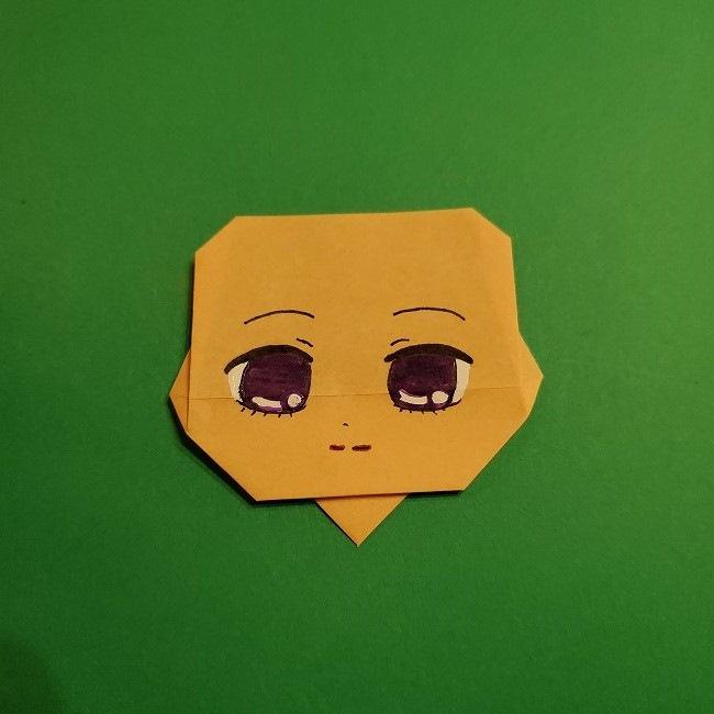きめつのやいば 折り紙のたまよ*折り方作り方4完成 (1)