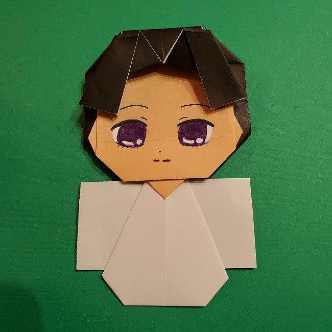 きめつのやいば 折り紙のたまよ*折り方作り方4完成 (15)