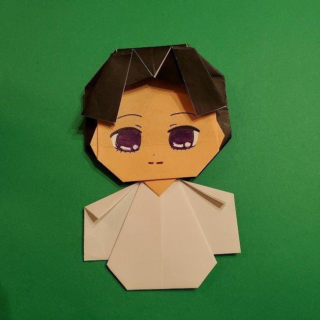 きめつのやいば 折り紙のたまよ*折り方作り方4完成 (16)