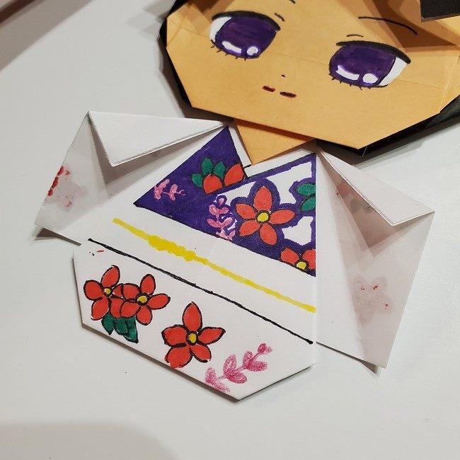 きめつのやいば 折り紙のたまよ*折り方作り方4完成 (19)