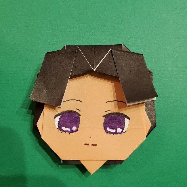 きめつのやいば 折り紙のたまよ*折り方作り方4完成 (8)