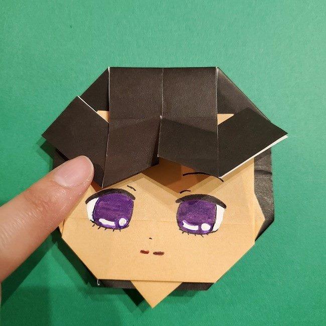 きめつのやいば 折り紙のたまよ*折り方作り方4完成 (9)