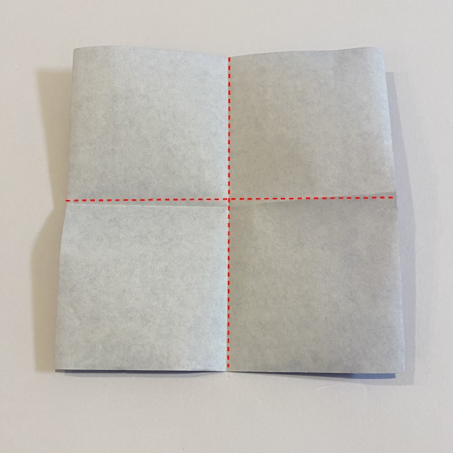 こいのぼりの折り紙(年少さんの製作) 折り方作り方 (1)