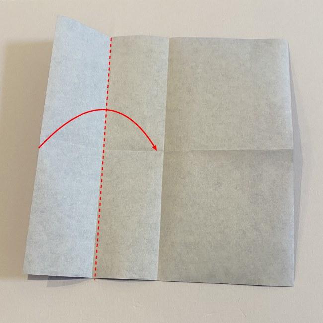 こいのぼりの折り紙(年少さんの製作) 折り方作り方 (2)