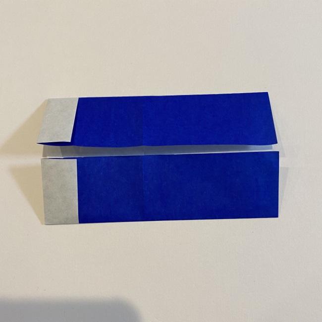 こいのぼりの折り紙(年少さんの製作) 折り方作り方 (4)