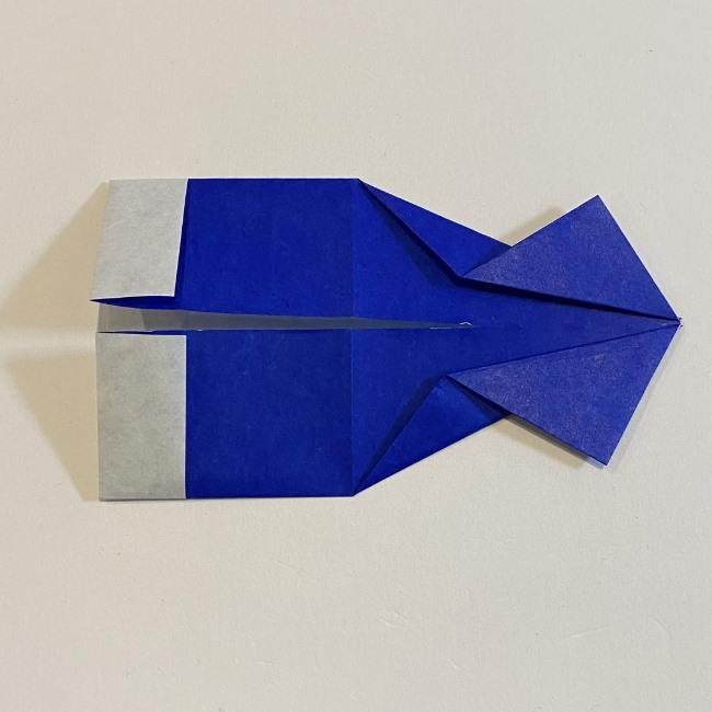 こいのぼりの折り紙(年少さんの製作) 折り方作り方 (8)