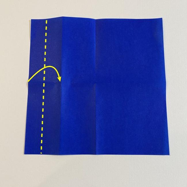 こいのぼりの折り紙(年少さんの製作) 折り方作り方3 (1)
